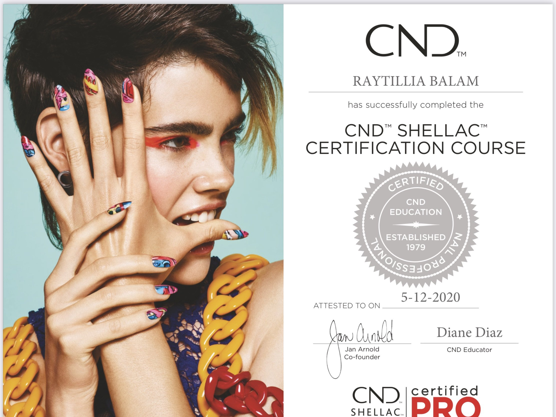 CND Wedding Bride Radiance by Raytillia Salon Nail Facial MiniSpa