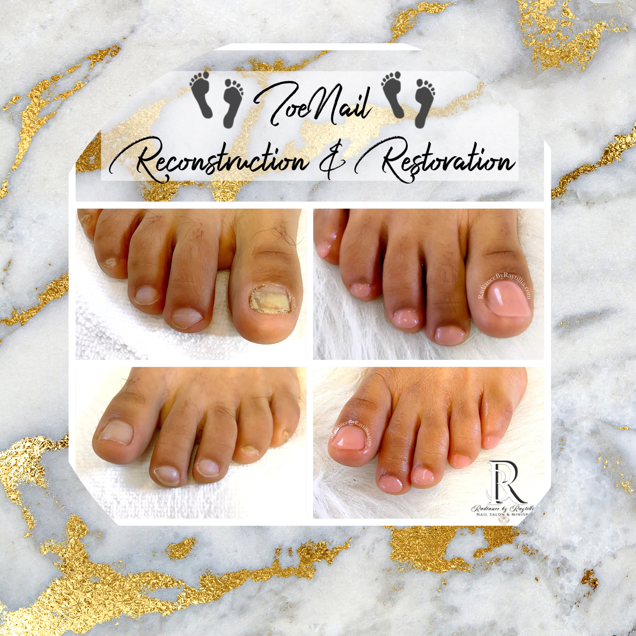 Radiance Raytillia Nail Facial Spa Pedicures Manicures Gel Shellac Polish Enhancements CND Brunswick Georgia SSI